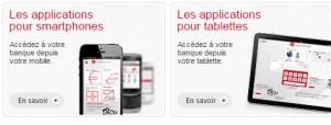 application mobile et tablette pour accéder compte assurance