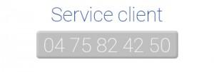 service clientèle serenis
