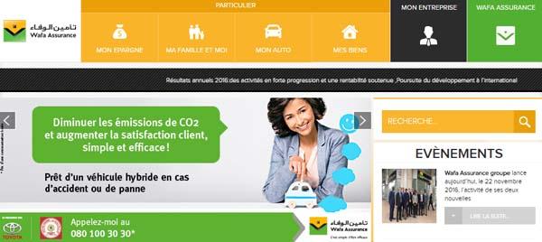 assurance Wafa Maroc