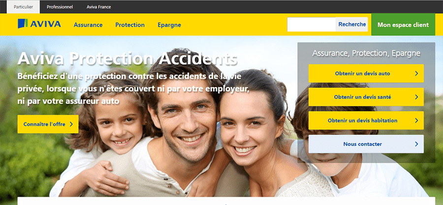 site officiel aviva