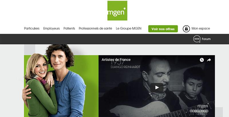 site mgen mutuelle