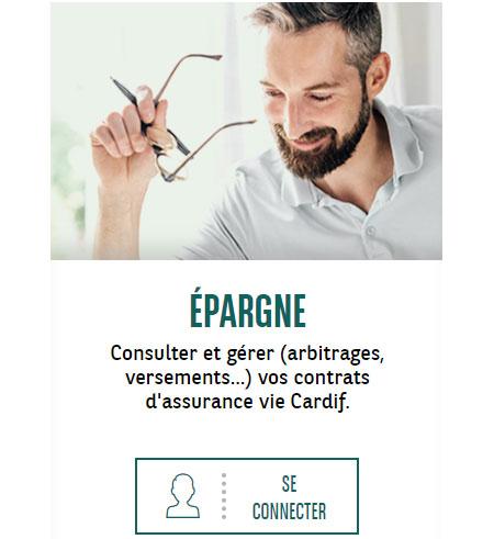 Espace assurance Cardif Connexion