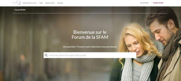 acceder au site de l'assurance sfam.fr