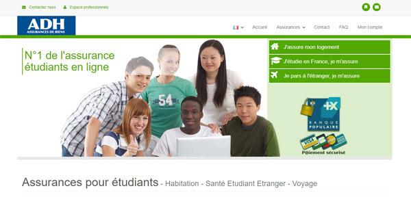 ADH Assurances Etudiants