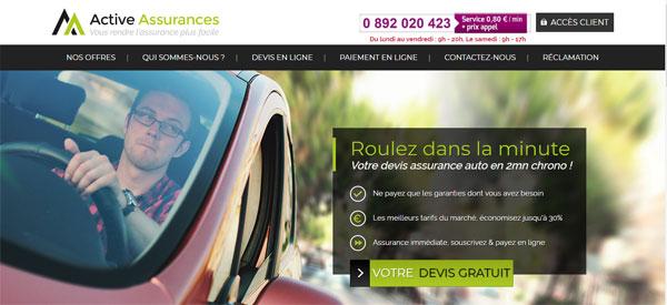 www.activeassurances.com mon compte en ligne
