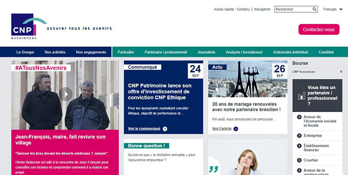 cnp assurance france