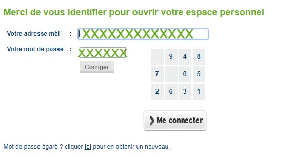 connexion au compte Monceau assurances