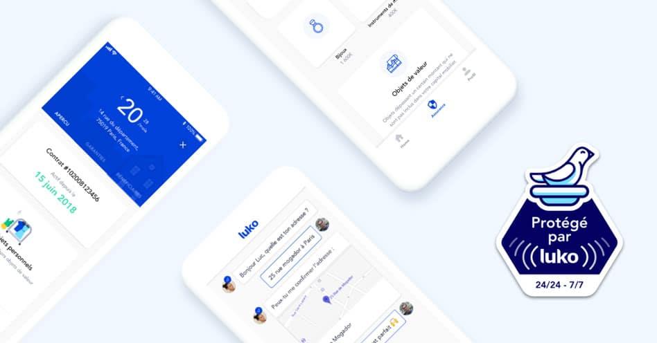 Application mobile Luko