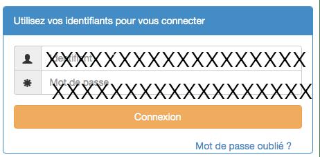 ADEP connexion