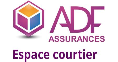 ADF assurances mon espace courtier en ligne