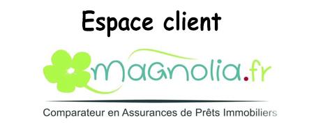 Mon espace client sur le site de la société d'Assurance Magnolia
