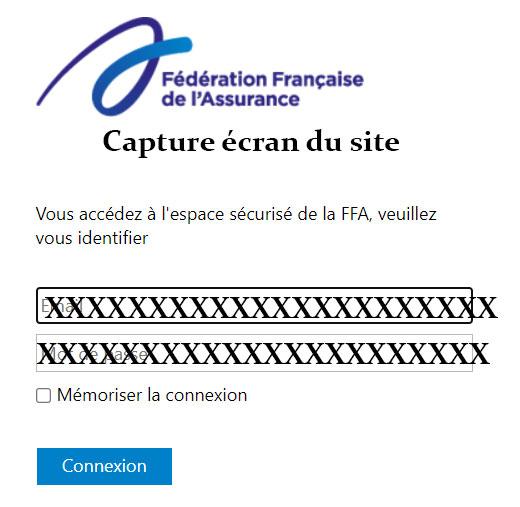 FFA assurance connexion